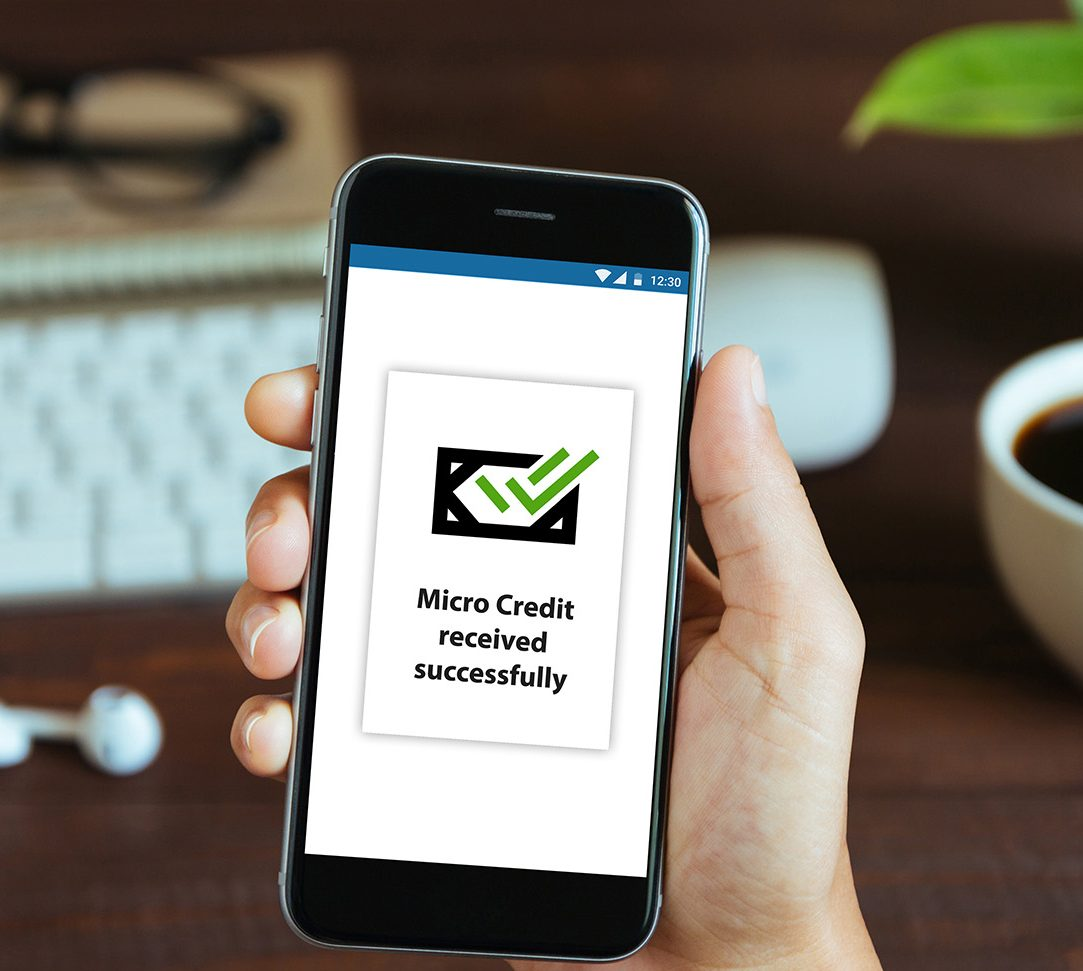 Micro Credit - Product - Successfully received notification