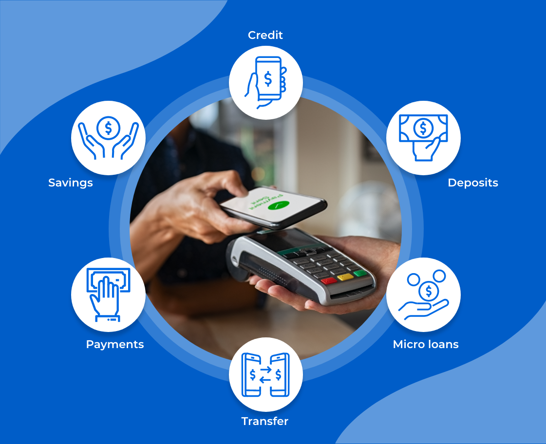mobile money solution functionality